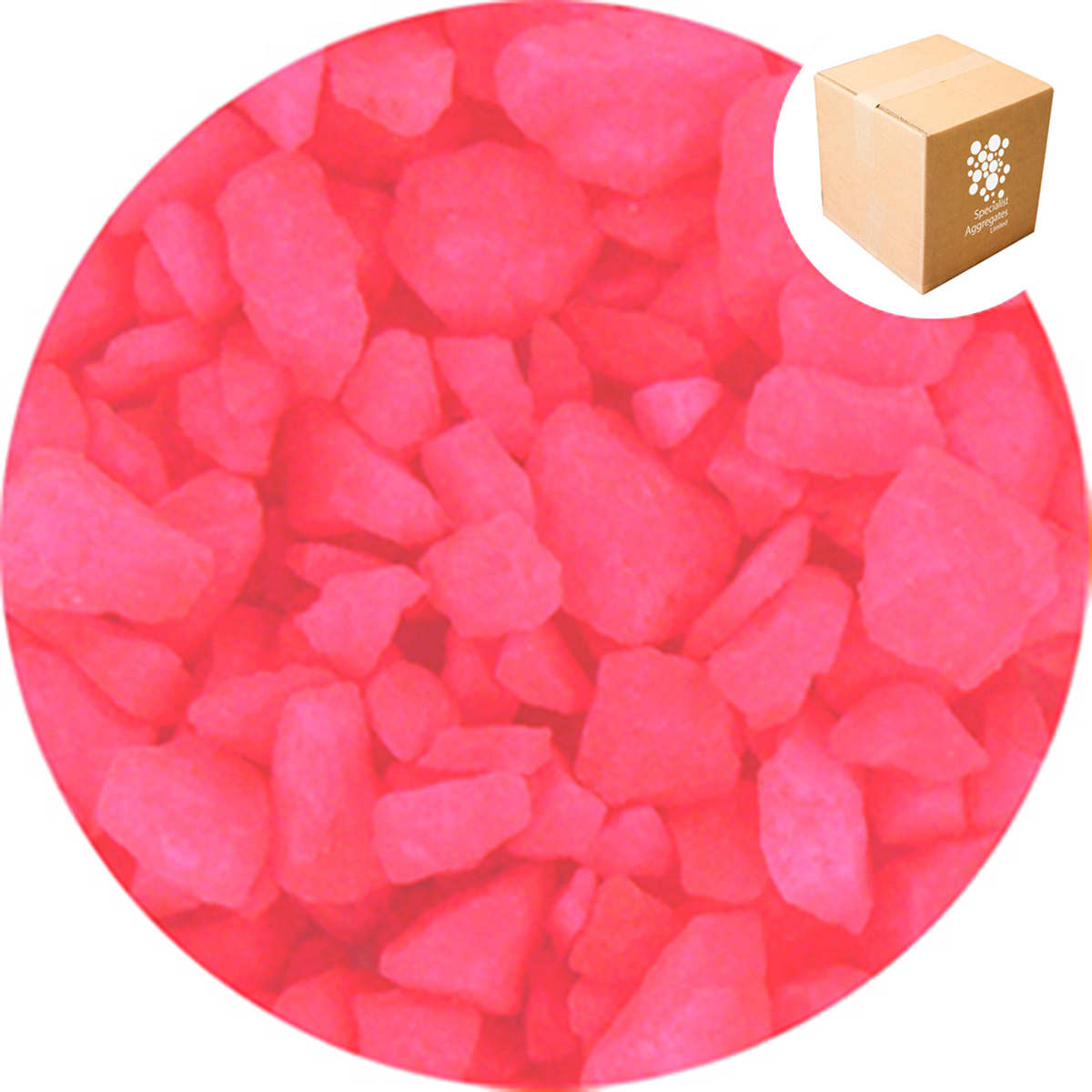 Aspen Crystal  - Day Glo - Bright Pink