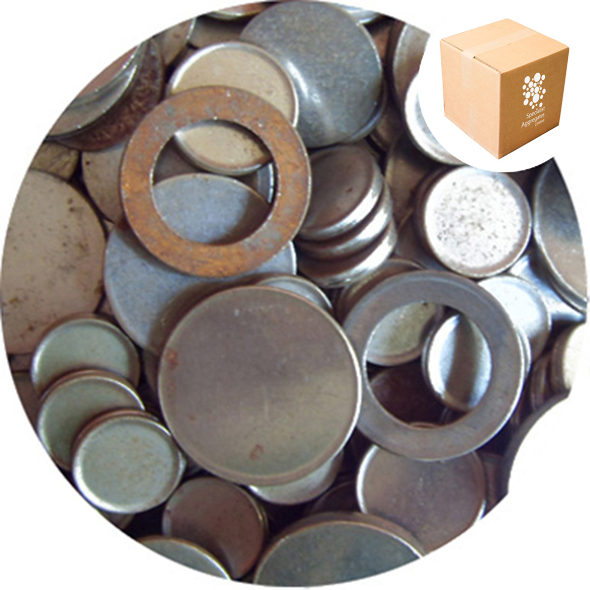 Steel Blanks - Large Rounds