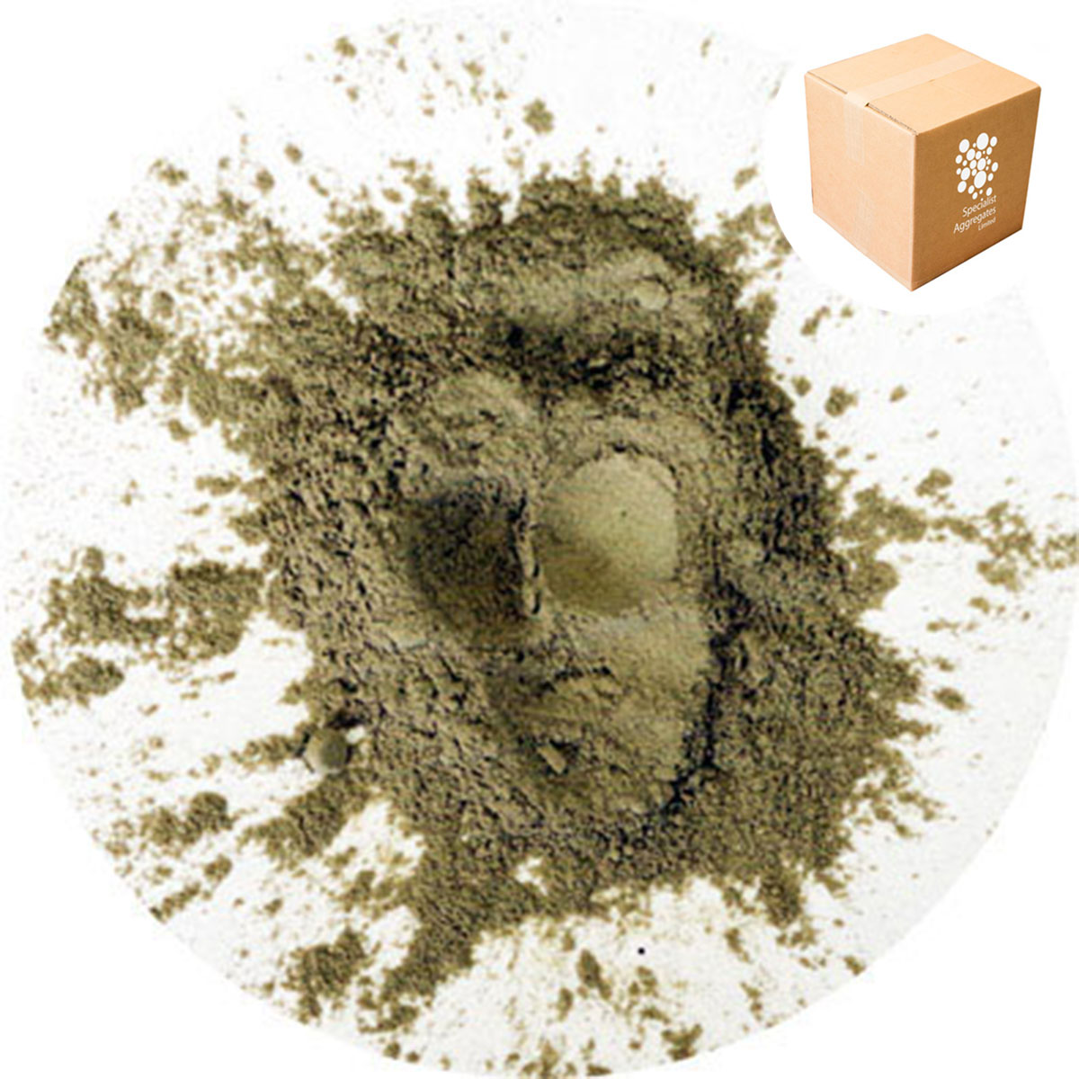 Buy Bentonite Clay - Dusting Powder - Brown | Specialist