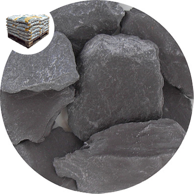 Crushed Slate Chips - Blue / Grey - Small