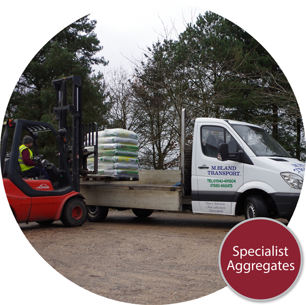 Specialist Aggregates Limited Feature Off-Loading
