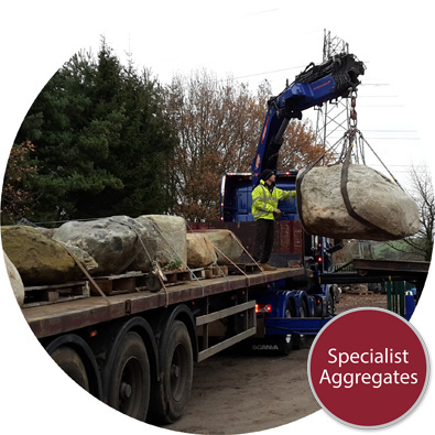 Specialist Aggregates Limited Feature Rocks Placement