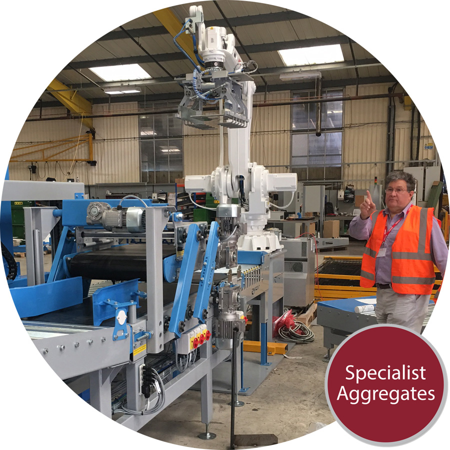 Specialist Aggregates commission bespoke automated packing plant
