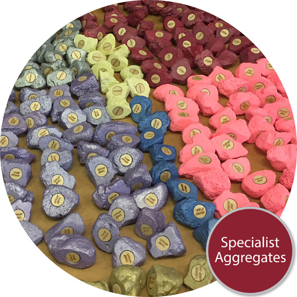 Specialist Aggregates Ltd Coloured Aggregates Decoration