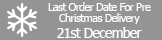 Last delivery Dates from Specialist Aggregates Christmas 2015