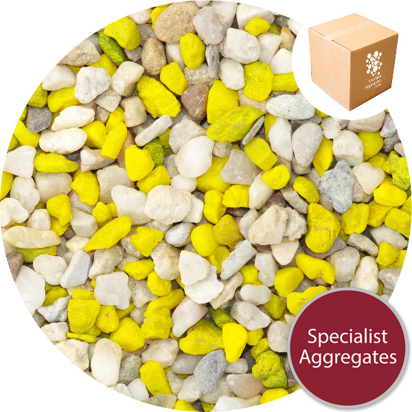 Aquarium Gravel - Natural Tang Yellow