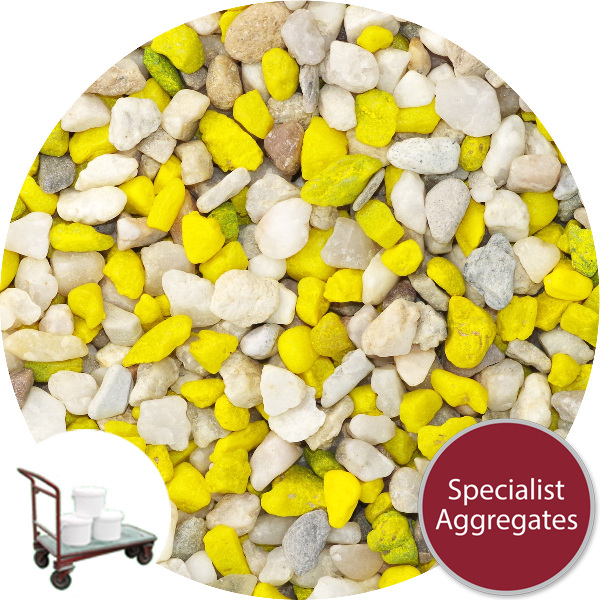 Aquarium Gravel - Natural Tang Yellow - Click & Collect
