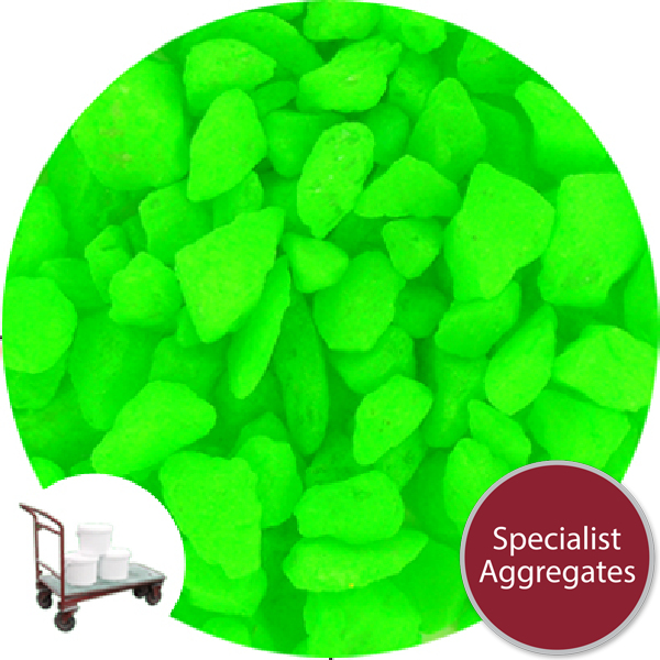 Aspen Crystal  - Day Glo - Lime Green - Collect
