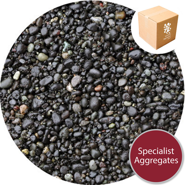 Bridport Black Gravel - Kiln Dried - 1-4mm