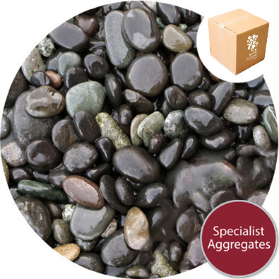 Bridport Black Gravel - Kiln Dried - 6-16mm