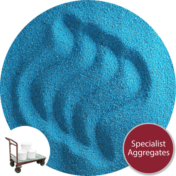 Coloured Sand - Aqua Blue - Click & Collect