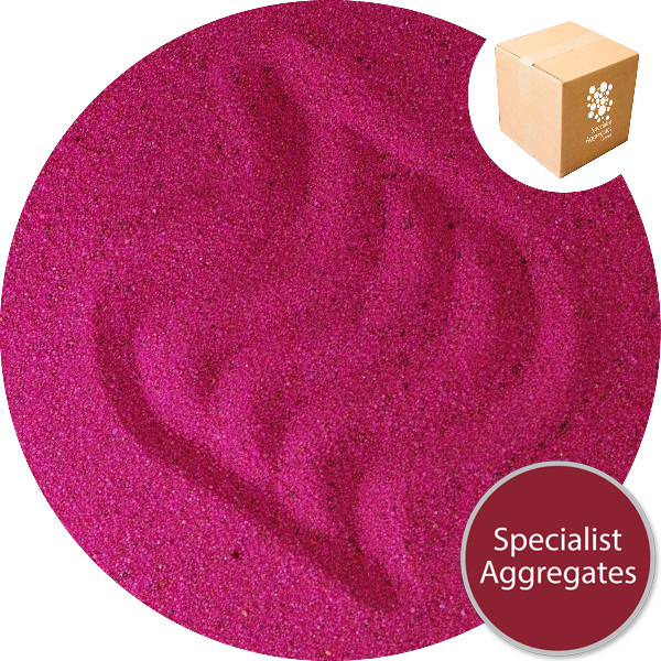 Coloured Sand - Passionate Pink