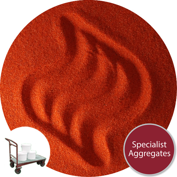 Coloured Sand - Trinidad Orange - Collect