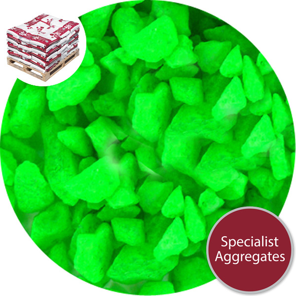 Day Glo Marble - Neon Green