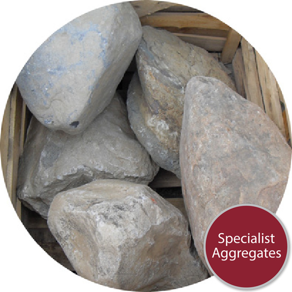 Glacial Boulders - 5 Medium Rounded