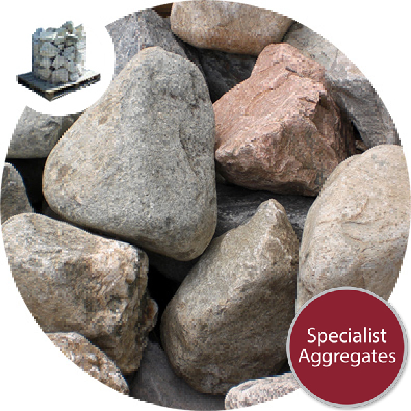 Glacial Boulders - Small Rounded