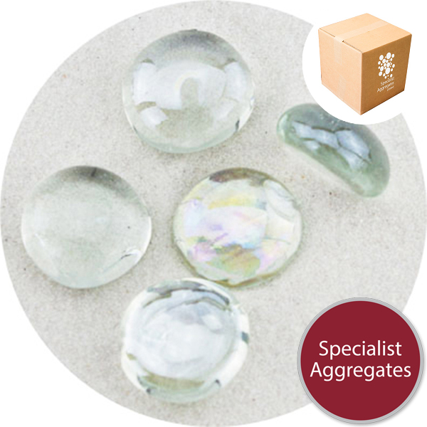 Glass Nuggets - Lustered Crystal
