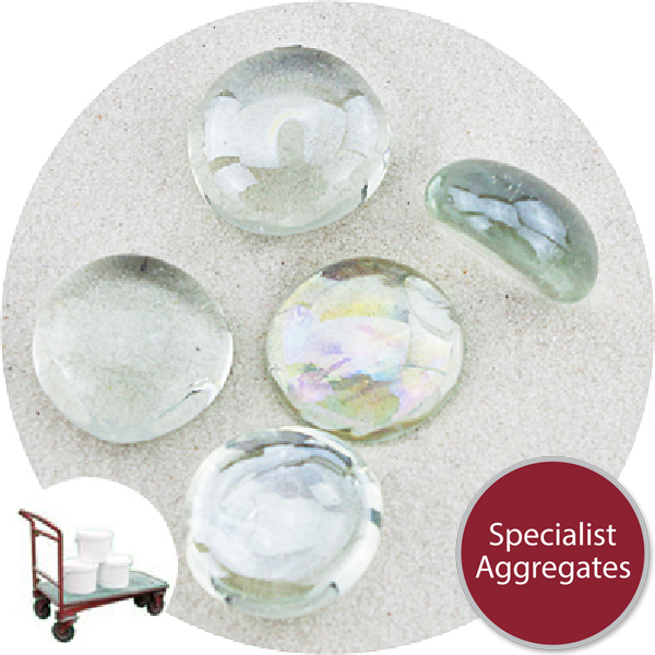 Glass Nuggets - Lustered Crystal - Click & Collect
