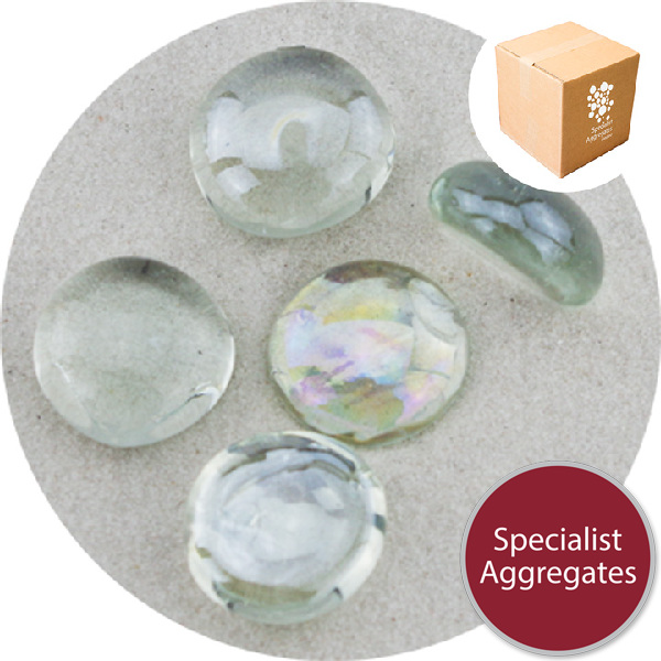 Glass Nuggets - Lustered Crystal - Design Pack