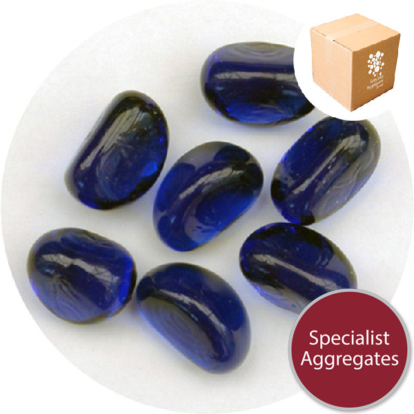 Glass Stones - Dark Blue - Design Pack