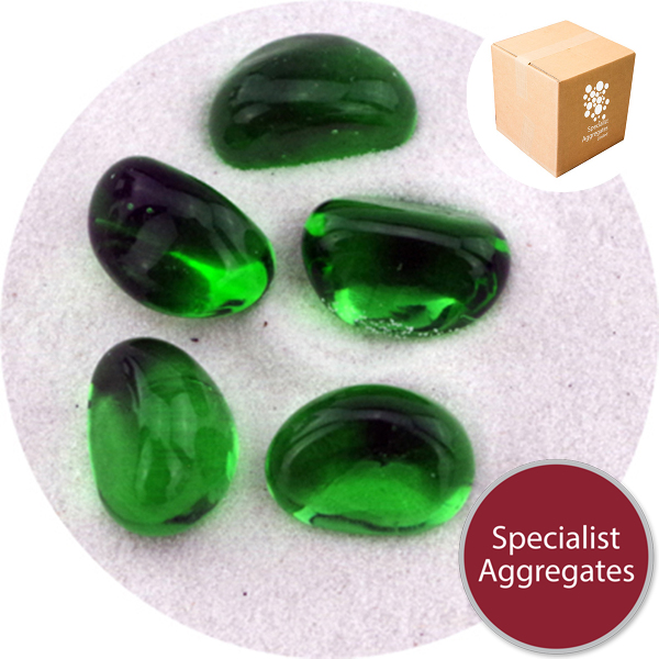 Glass Stones - Green