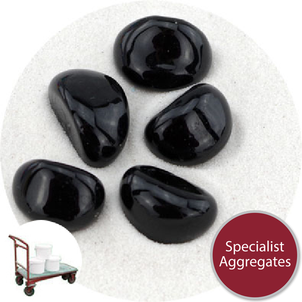 Glass Stones - Jet Black - Collect