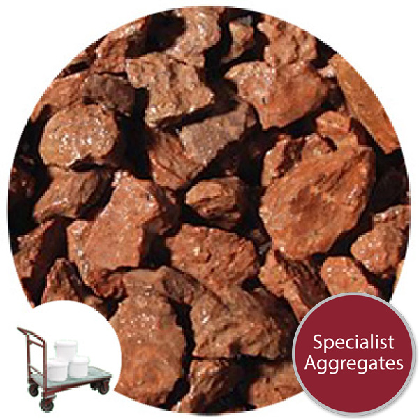 Granite Chippings - Buckingham Red - Click & Collect