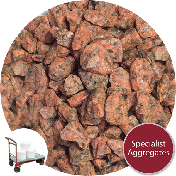 Granite Chippings - Grampian Pink - Click & Collect