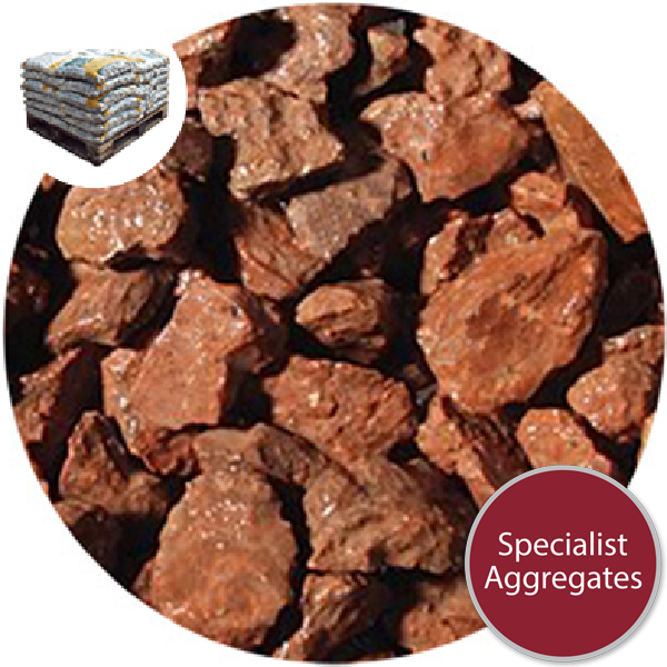 Granite Chippings - Terracotta Red