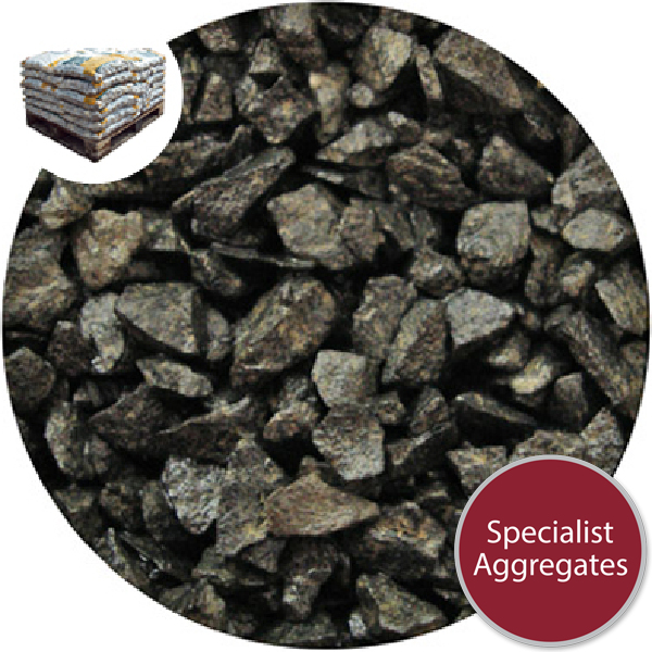 Granite Chippings - Volcanic Black