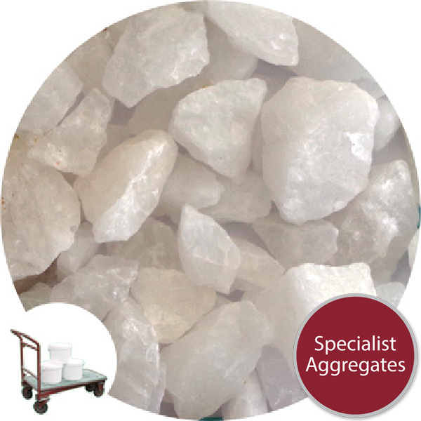 Granulated Quartz Support Media -  6-12mm - Collect