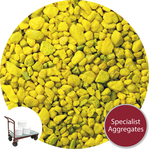 Gravel for Resin Bound Flooring - Flip Flop Yellow - Click & Collect