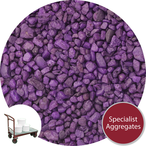 Gravel for Resin Bound Flooring - Lace Up Purple - Click & Collect