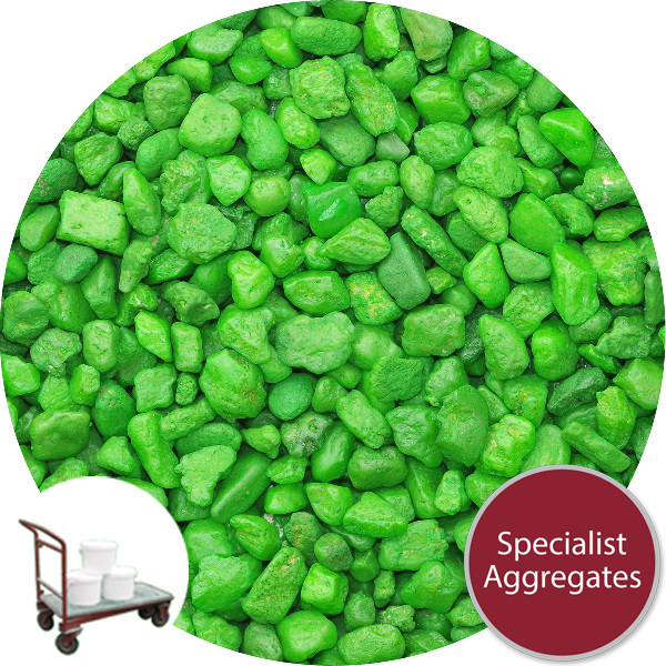 Gravel for Resin Bound Flooring - Lime Green Jelly - Click & Collect