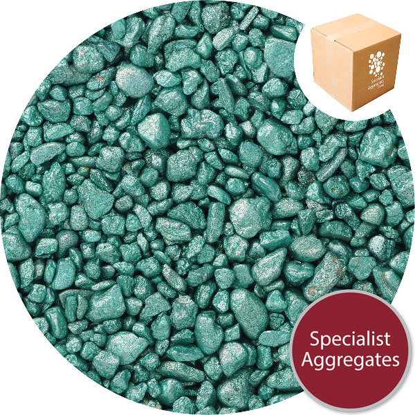 Gravel for Resin Bound Flooring - Starburst Green