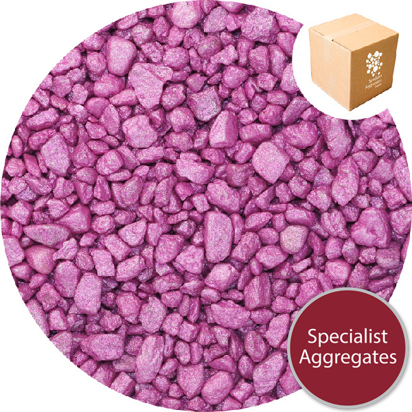 Gravel for Resin Bound Flooring - Starburst Pink