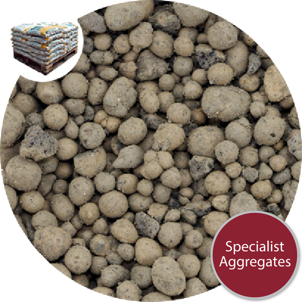 Leca® 4-10mm Lightweight Expanded Aggregate
