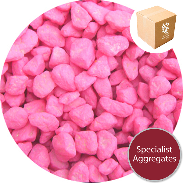 Marble Chippings - Pastel Magenta - 7306