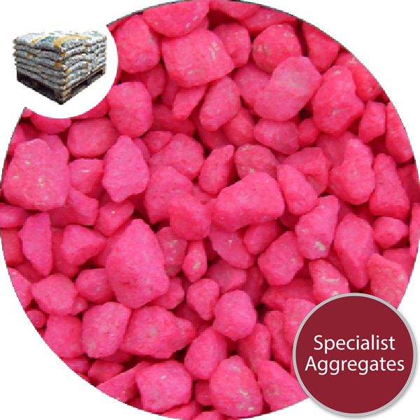 Marble Chippings - Pink - 7324