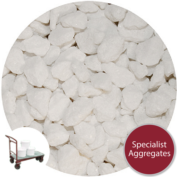 Marble Chippings - White - Collect
