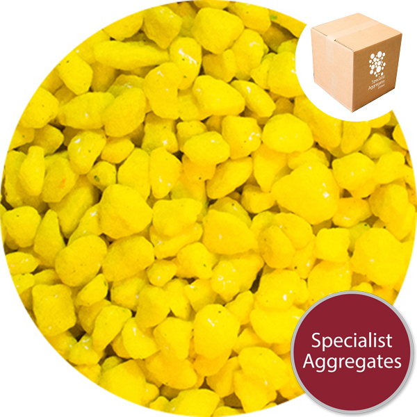 Marble Chippings - Yellow