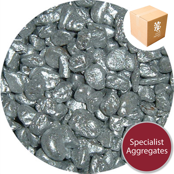 Metaleis Rounded Gravel - Silver