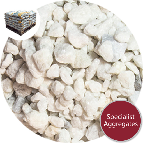 Polar White Chippings - Small