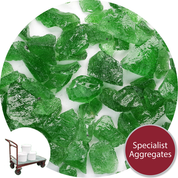 Recycled Enviro-Glass - Green Gravel - Click & Collect