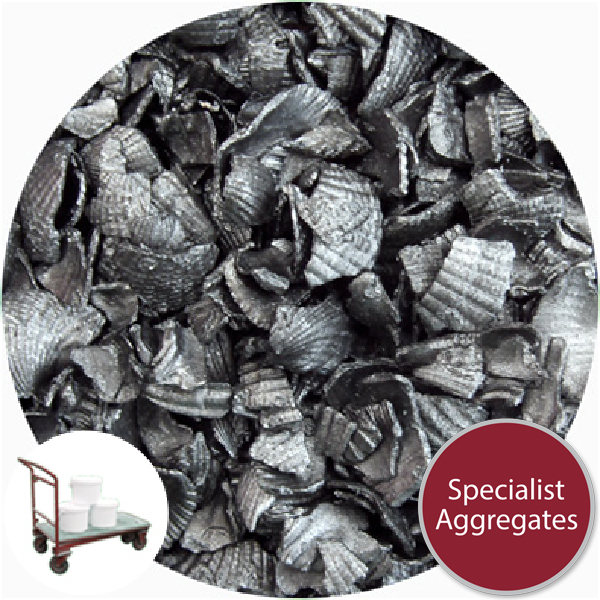 Recycled Shell - Crushed Starburst Anthracite - Collect