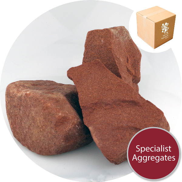 Red Sandstone - Alpine Rock