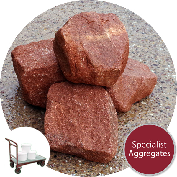 Red Sandstone - Alpine Rockery - Click & Collect
