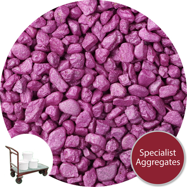 Rounded Gravel - Starburst Pink - Click & Collect