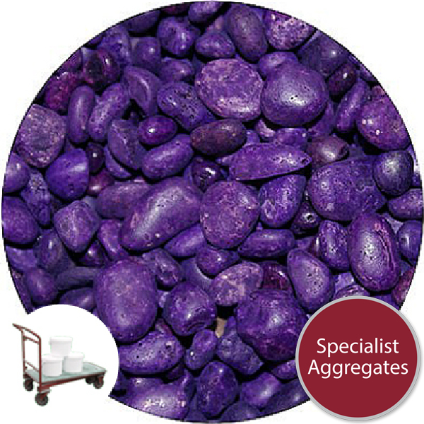 Rounded Gravel - Violet - Collect