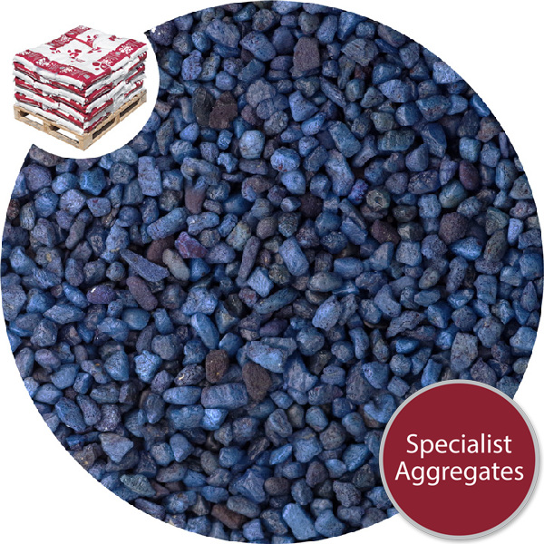 Rounded Gravel Nuggets - Cobalt Blue